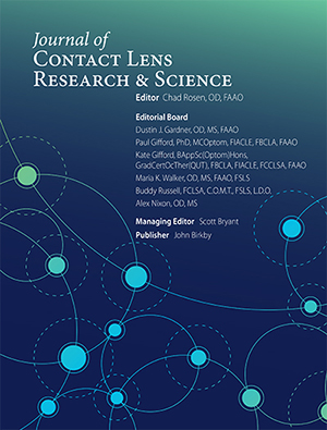 Vol 1 No 1 (2017): Journal of Contact Lens Research and Science